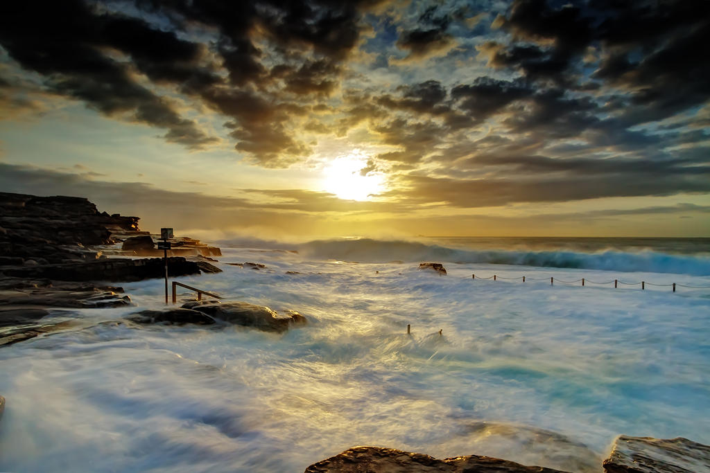 Fury at Maroubra by MarkLucey
