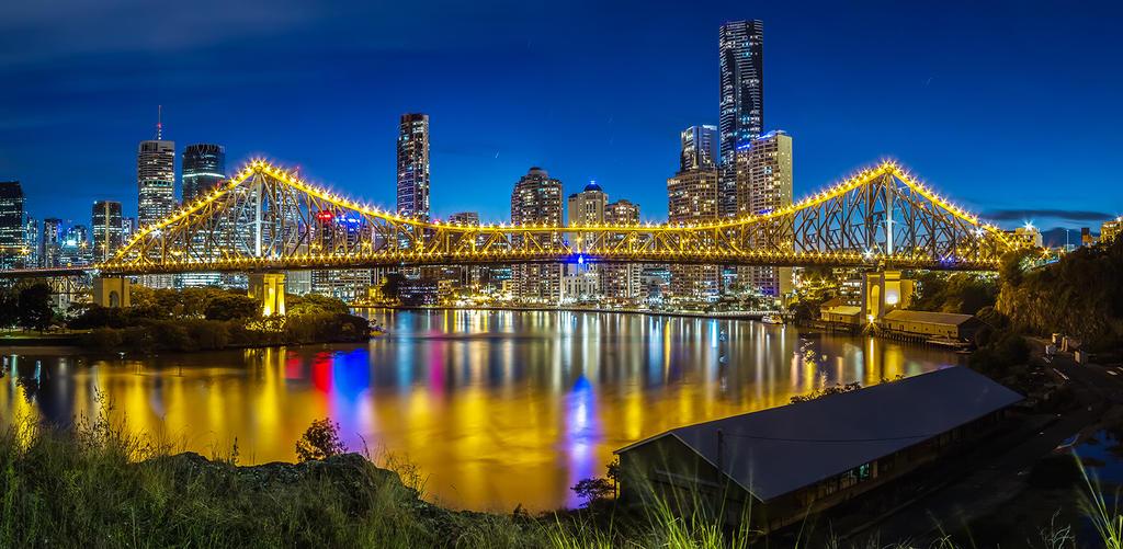 Story Bridge- Brisbane Queensland by MarkLucey