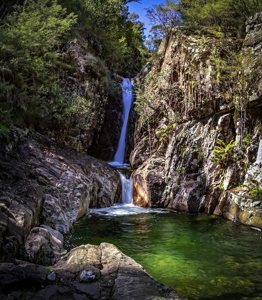 Rollason Falls by MarkLucey