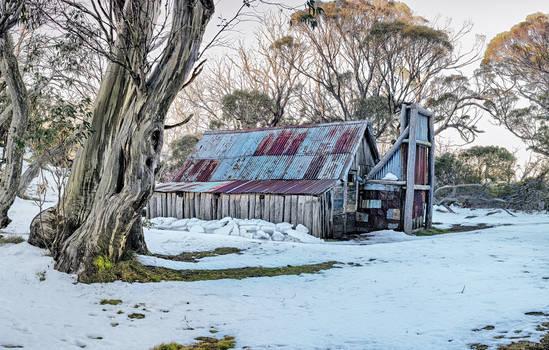 Wallaces Hut - Winter