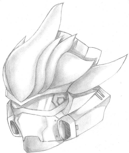 Helmets Drawings Halo 4 Helmet Drawing Come