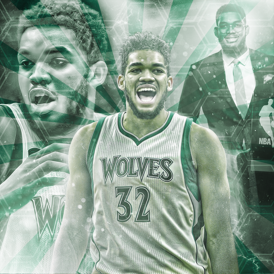 Karl-Anthony Towns by HyDrAndre