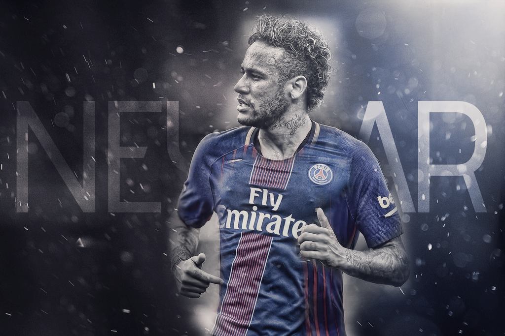 Neymar Welcome to PSG by HyDrAndre