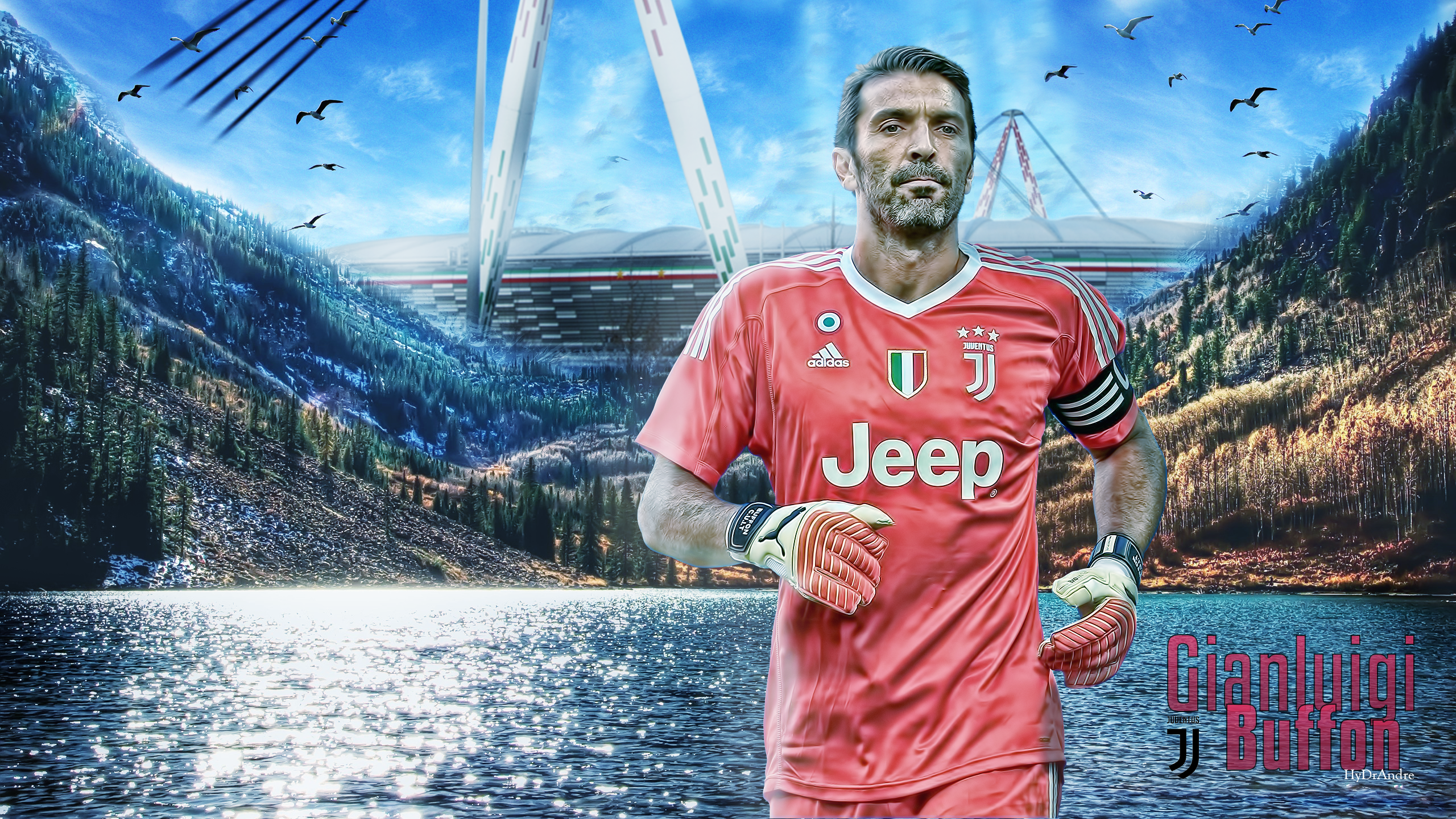 Gianluigi Buffon Wallpaper by HyDrAndre
