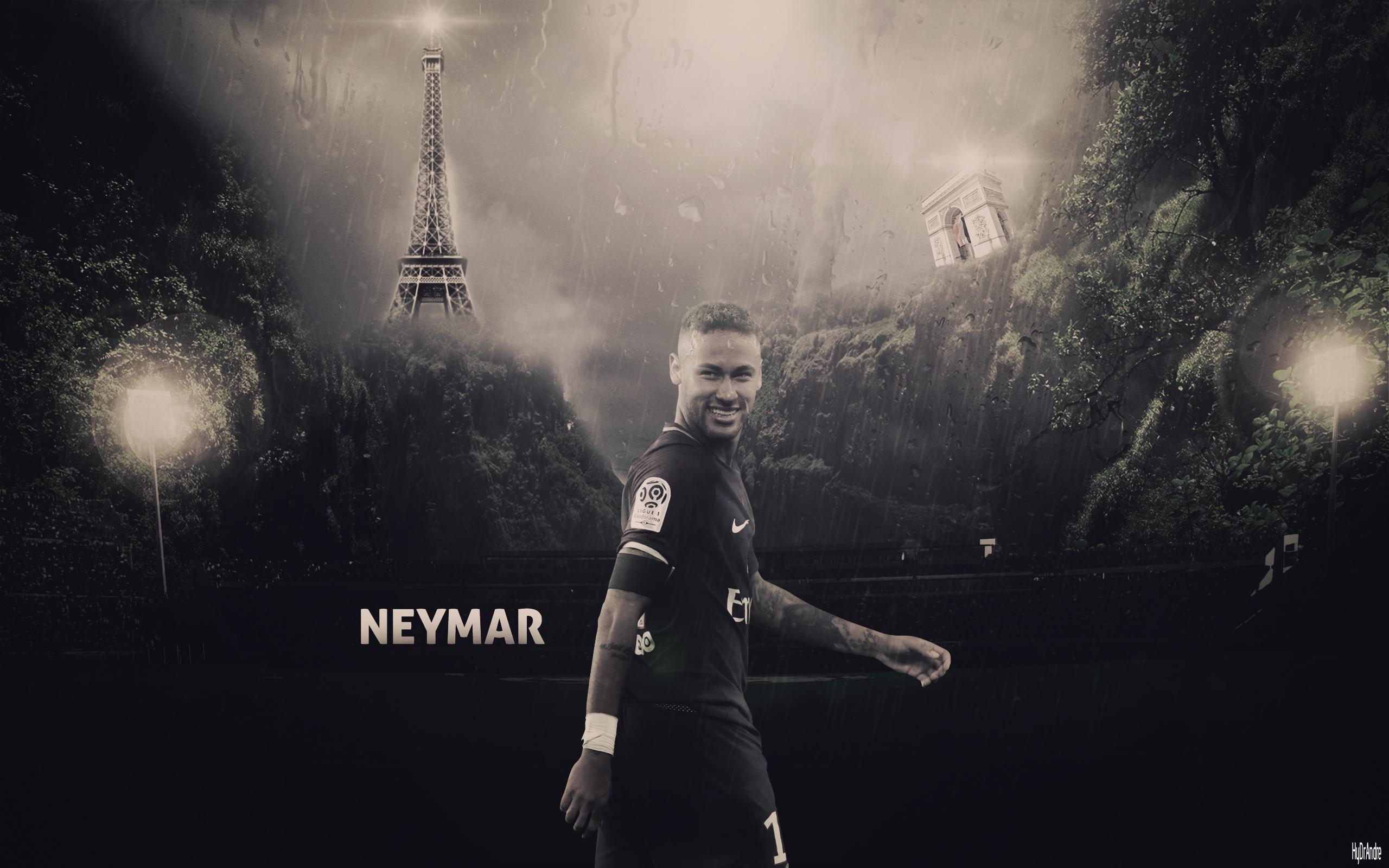 Neymar Jr Wallpaper by HyDrAndre