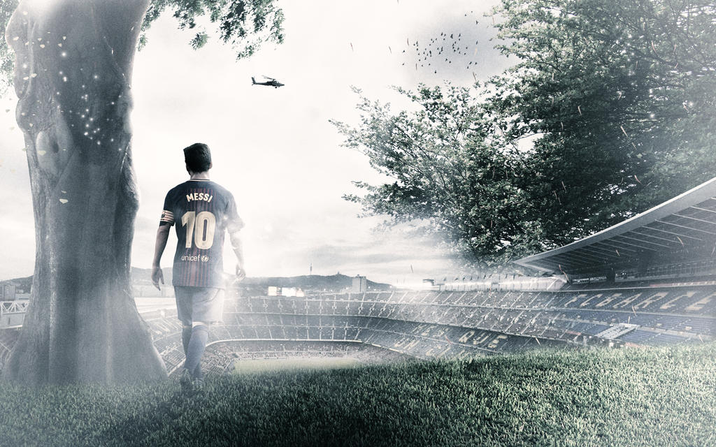 Lionel Messi Wallpaper by HyDrAndre