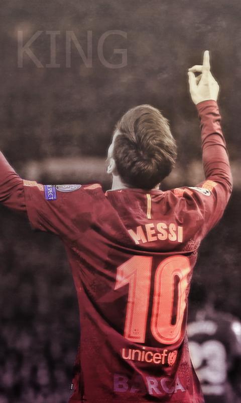 Messi Locker Screen by HyDrAndre
