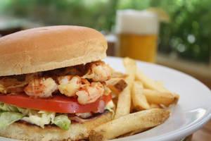 Shrimp Burger by snok-daffy
