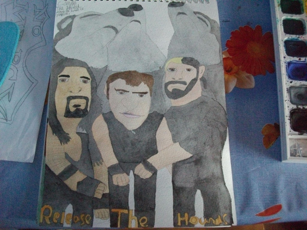 WWE The Shield by Firefly1599