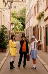Prof.Layton and his assistants