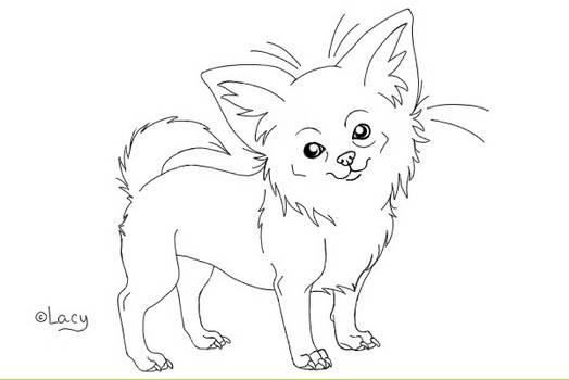 Chihuahua Lineart