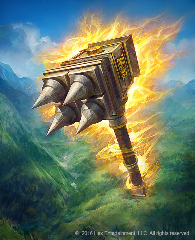 Blazing Hammer by JonnyKlein