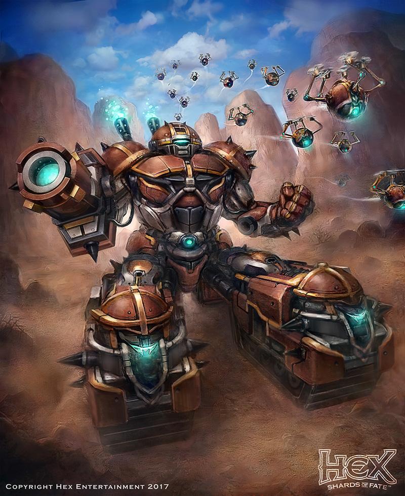 Droo's Ironclad Roller by JonnyKlein