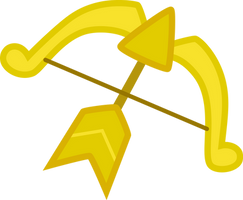Bow and Arrow Cutie Mark by SilverVectors