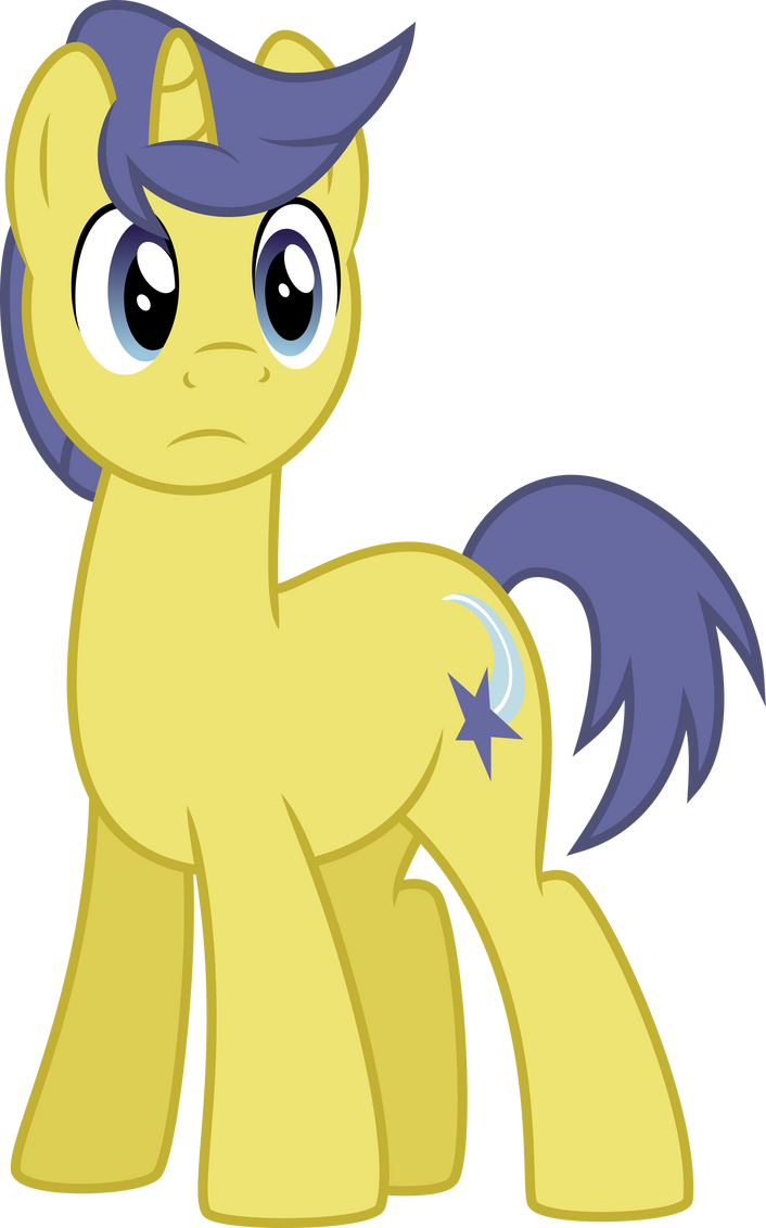 Comet Tail Frown by SilverVectors