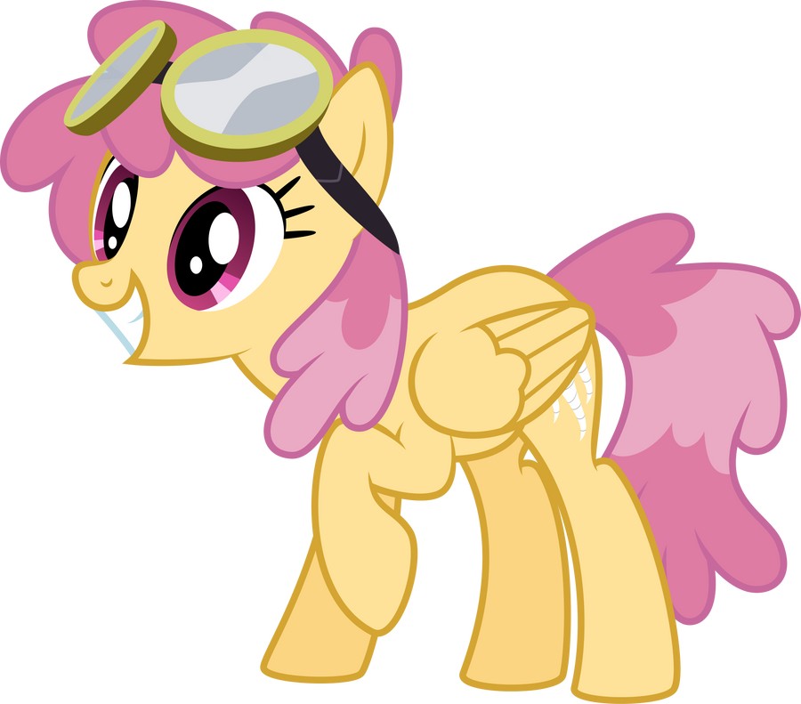 Twister in Goggles by SilverVectors