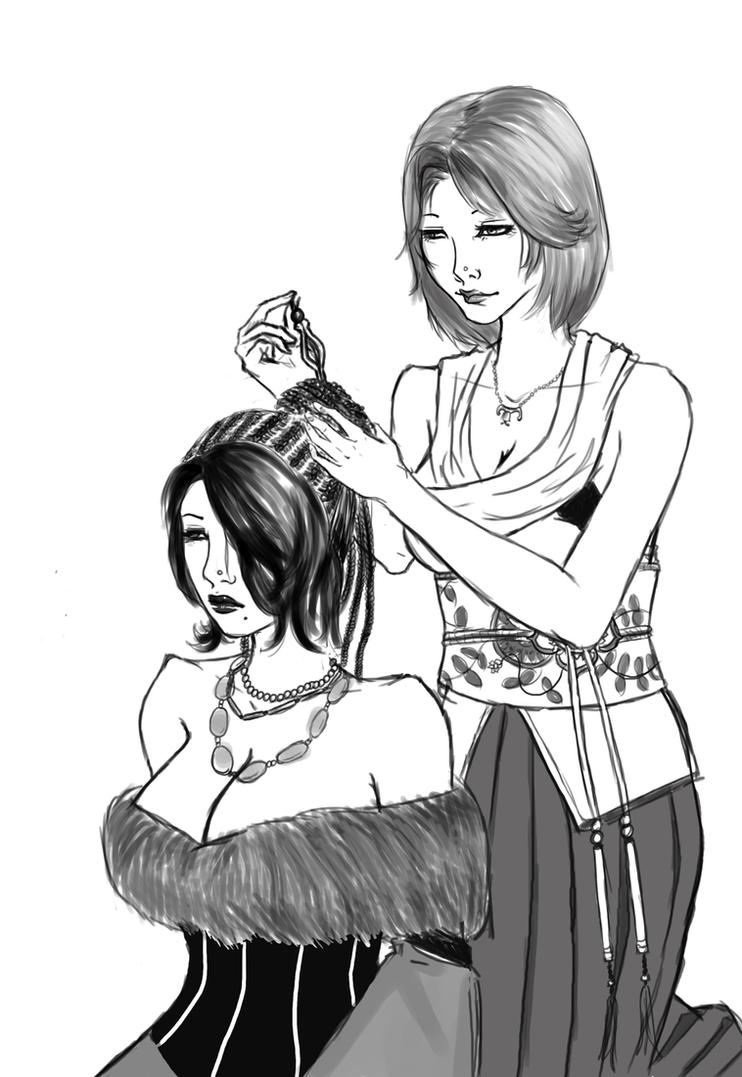 Yuna+Lulu by ToFlyToSing