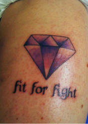 Diamond Fit for fight by itsch