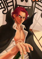 Shanks the Red haired by Zenkoman