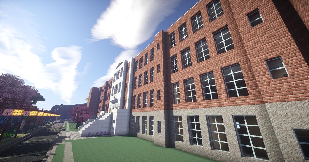 OLD Quincy High School Minecraft By INVOKER1990 On DeviantArt