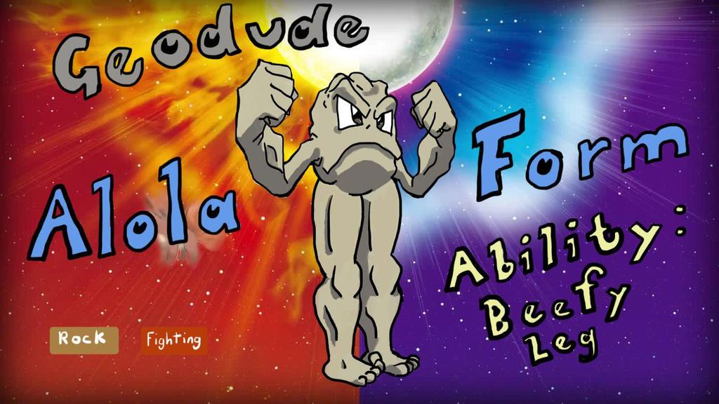Final Geodude Alola. by Dolan-Duck-Quack on DeviantArt