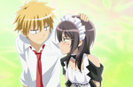 Misa and Usui