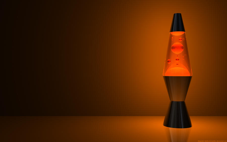 Blobba lamp orange offset by tarellex on deviantart for Off set floor lamp