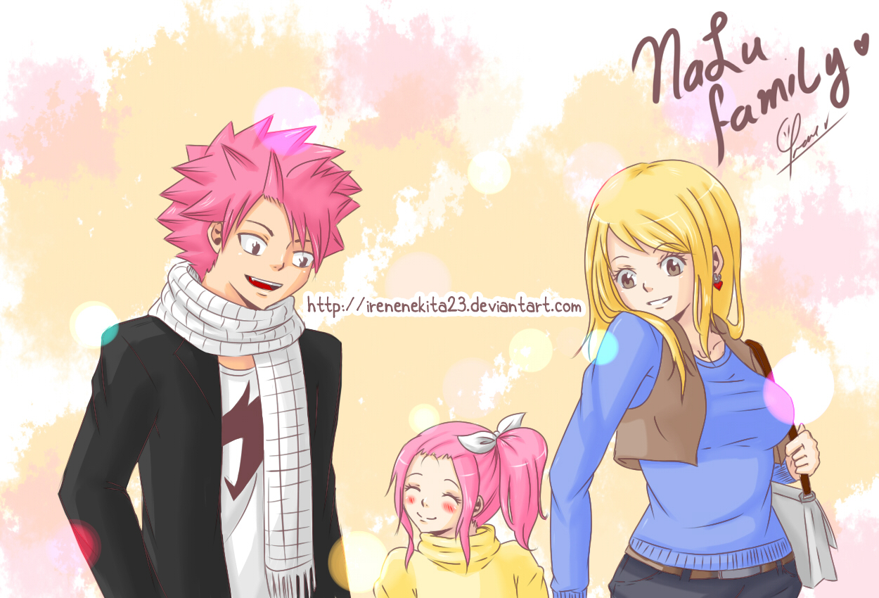 NaLu Family by Irenechii