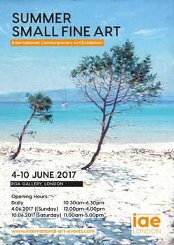 Summer Small Fine Art exhibition 4 - 10 June 2017