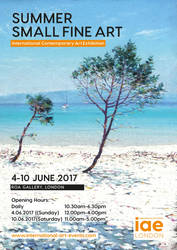 Summer Small Fine Art exhibition 4 - 10 June 2017