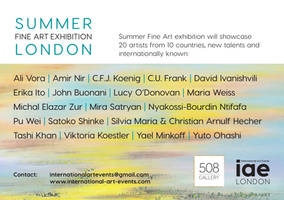 Summer Fine Art exhibition London 2018