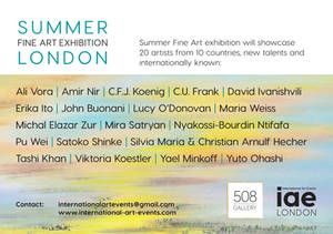 Summer Fine Art exhibition London 2018