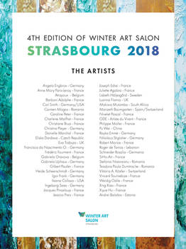 Winter Art Salon Strasbourg Artists