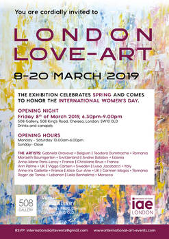 LONDON-LOVE-ART invitation