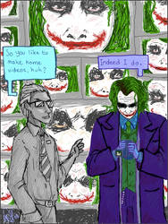 Shopping time with the Joker by elindor