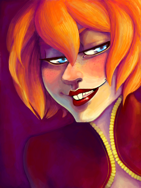 Mirabella -freckles- by elindor