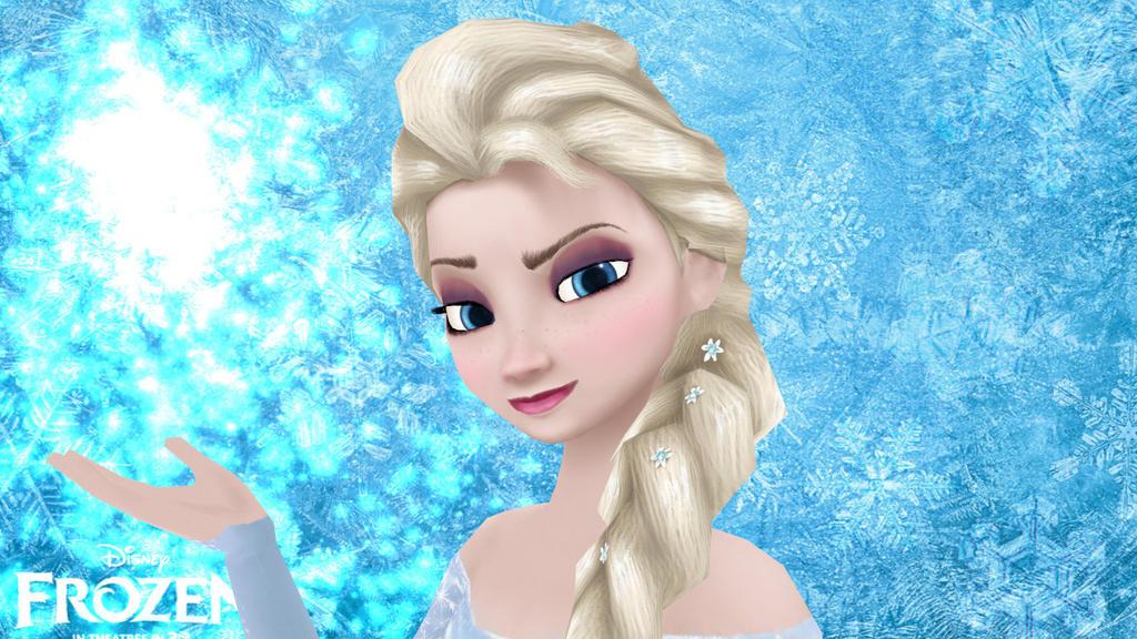 MMD Elsa From Frozen Posing Practice By Games Anjalea