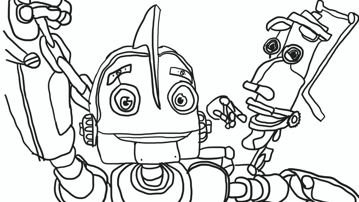 Robots Movie Sketch Request by Anjalea