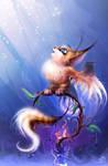 small foxy-bat by RedBast