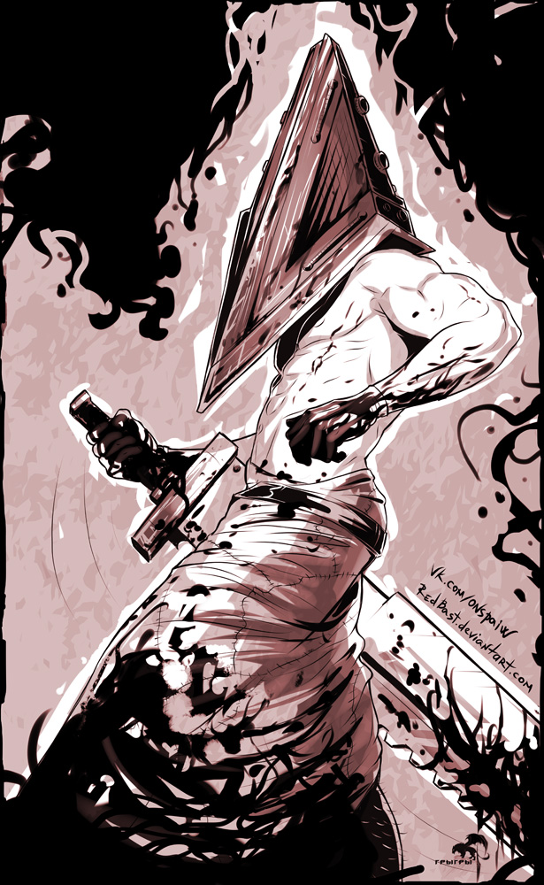 Pyramid Head. Silent Hill 2 fanart