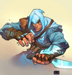 assassin's steve by ChuckARTT