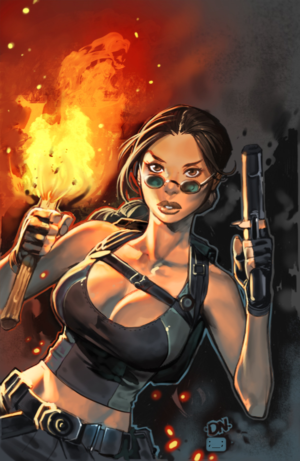 tomb raider by chuck-piresART