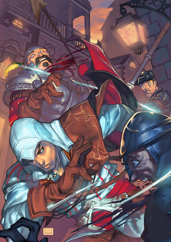 Ezio kills quick thanks to david-grier