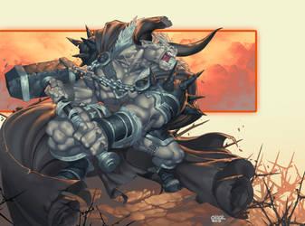 PART MAN PART BULL by ChuckARTT