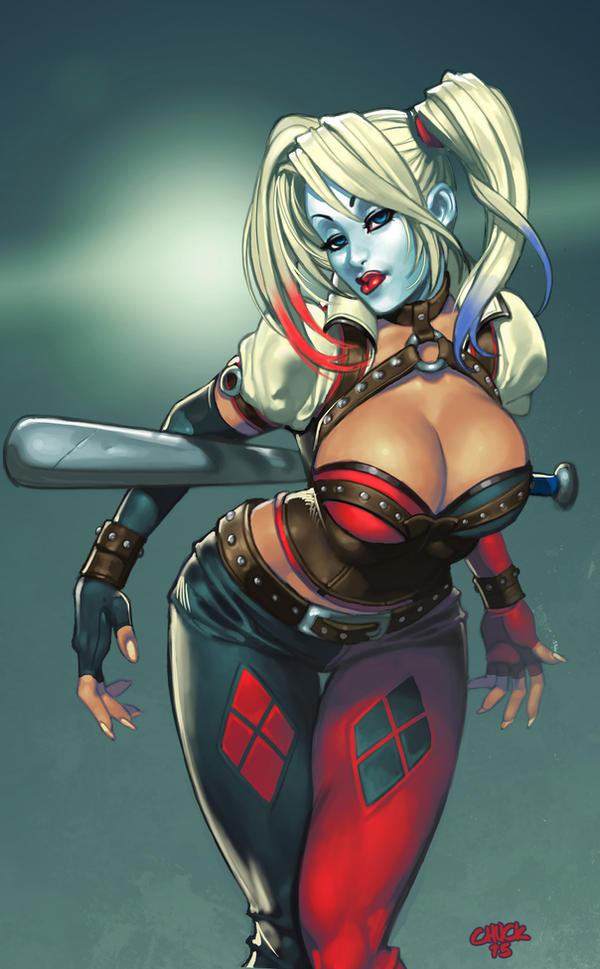 Arkam Harley by chuck-piresART
