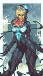 She Venom Comish by ChuckARTT
