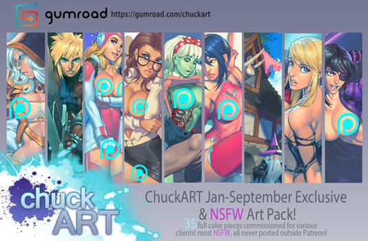 Jan-Sep Patreon exclusive and NSFW art pack!