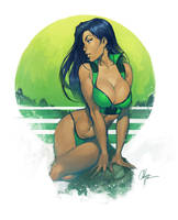 Green by ChuckARTT