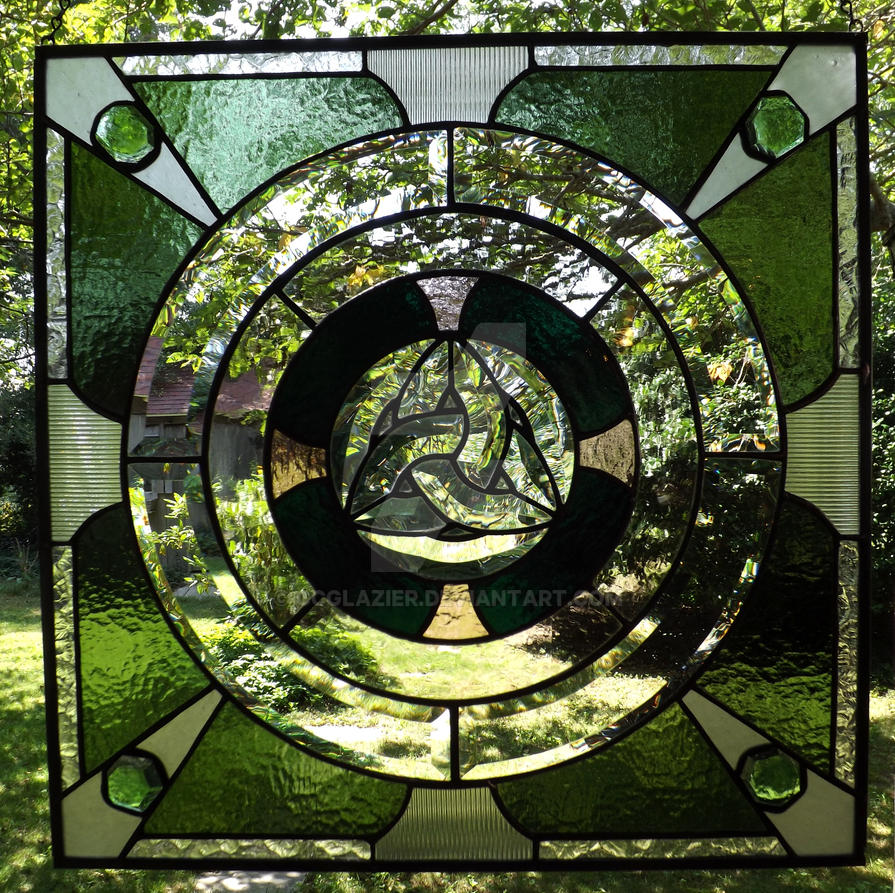 Stained Glass for The Barrow Lover by CCGlazier