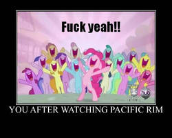 You after watching Pacific Rim